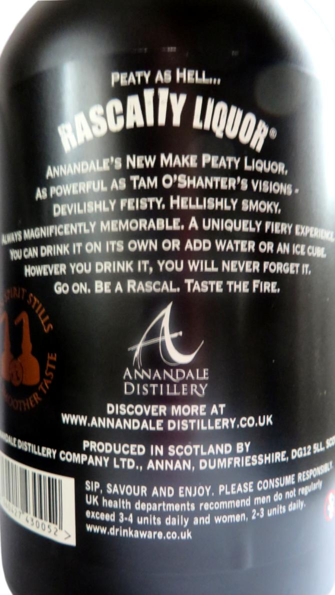 Rascally Liquor New Make Peated Malt Spirit