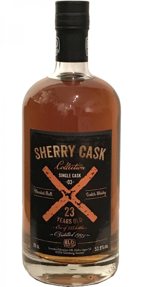 Sherry Cask Collection 1993 SE
