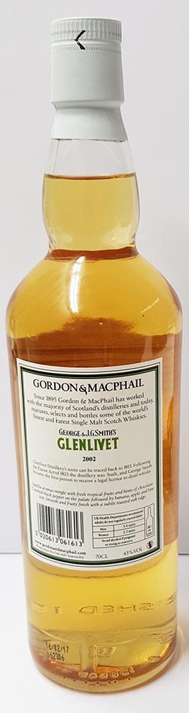 Glenlivet 2002 GM
