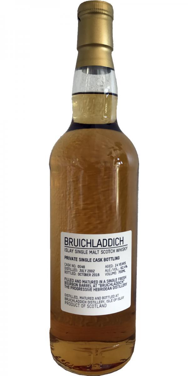 Bruichladdich 2002