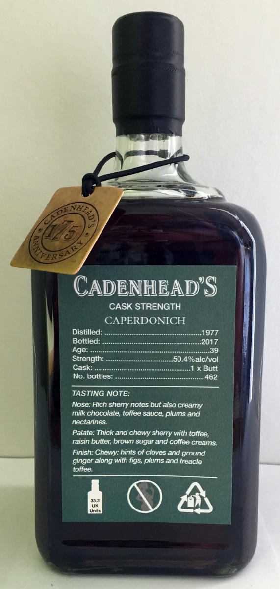 Caperdonich 1977 CA