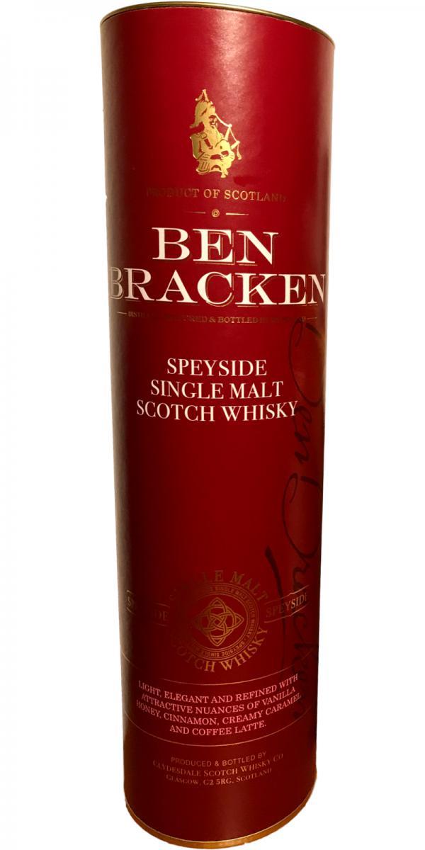 Ben Bracken Speyside Cd
