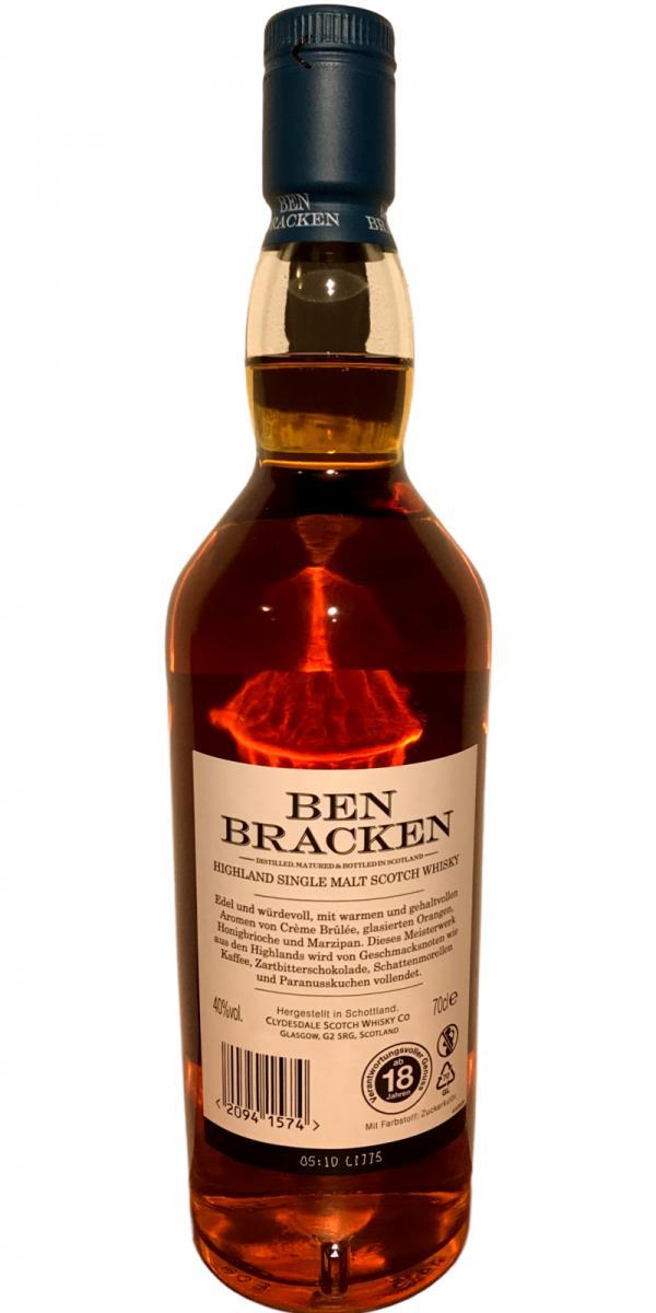Ben Bracken Highland Cd