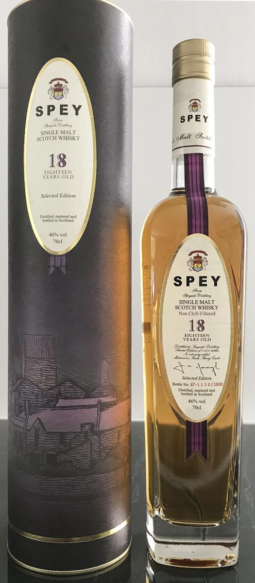 SPEY 18-year-old