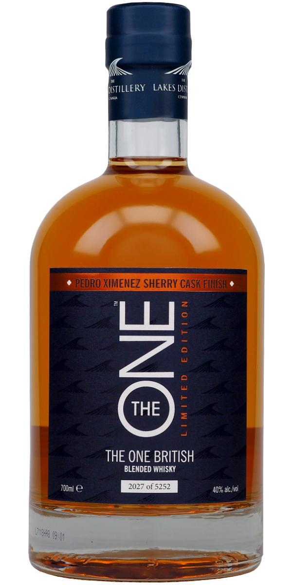 The One Pedro Ximenez Sherry Cask Finish