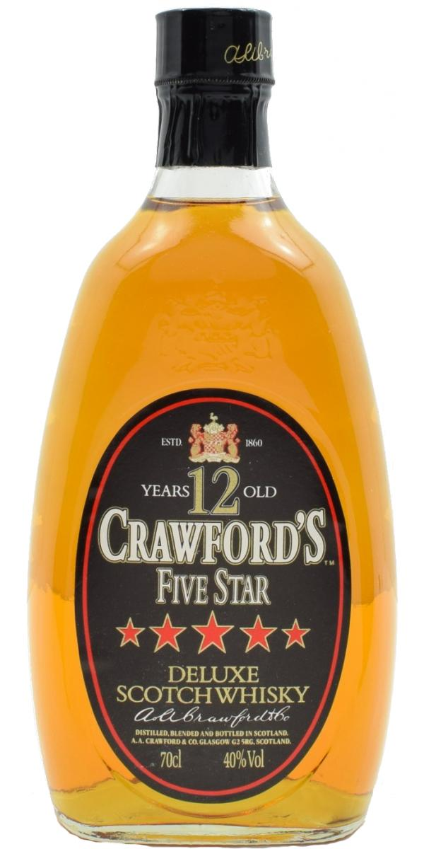 Crawford's 12-year-old - 5 Star