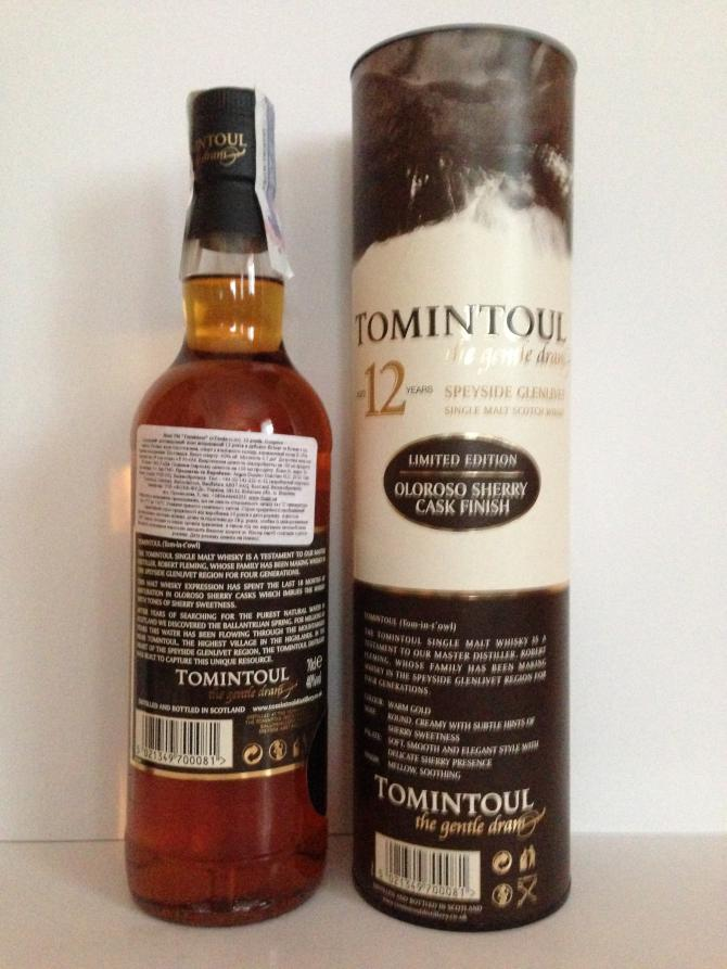 Tomintoul 12-year-old Oloroso