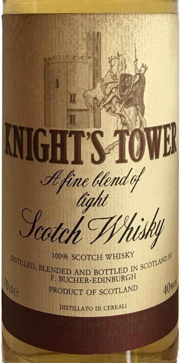 Knight's Tower A Fine Blend of Light Scotch Whisky