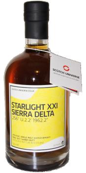 "Scotch Universe Starlight XXI Sierra Delta 256° U.2.2' 1962.2"""