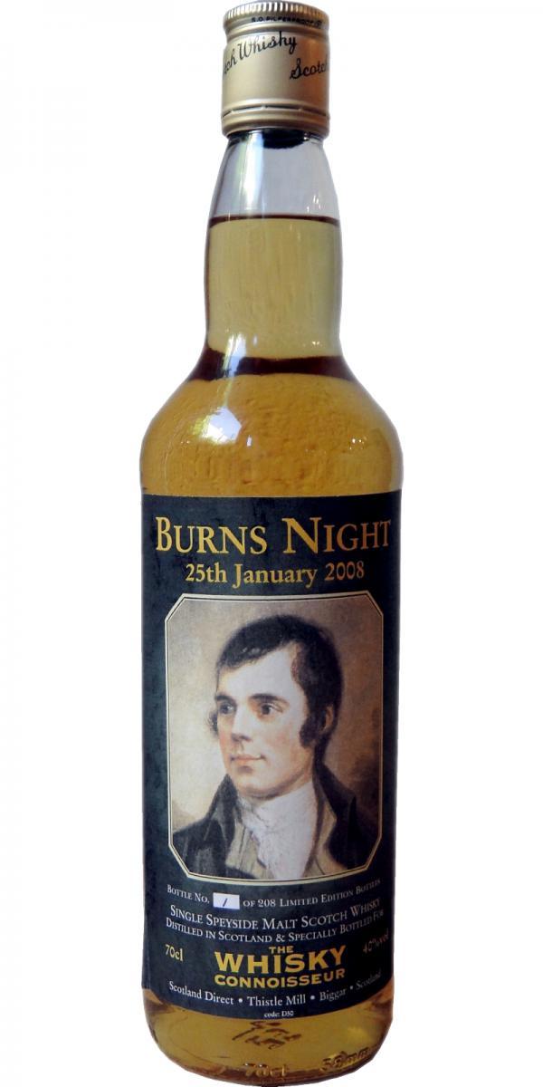 Burns Night 25th January 2008