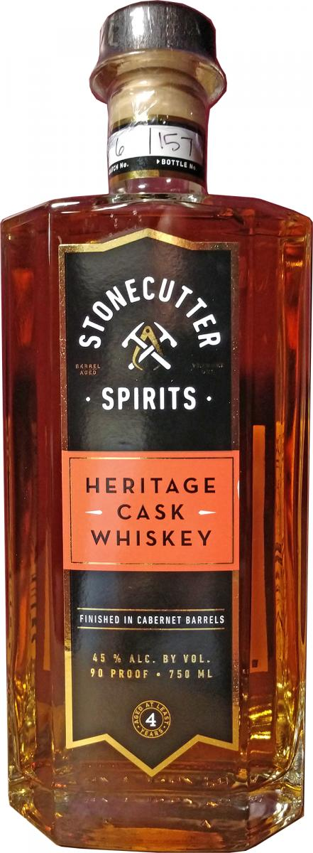 Heritage Cask Whiskey 04-year-old