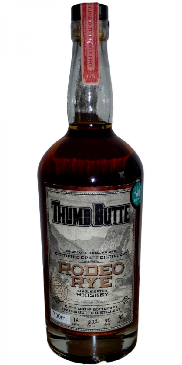 Thumb Butte Rodeo Rye