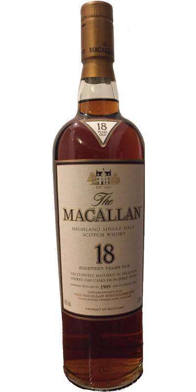 Macallan 1989