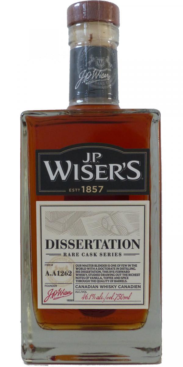 J.P. Wiser's Dissertation