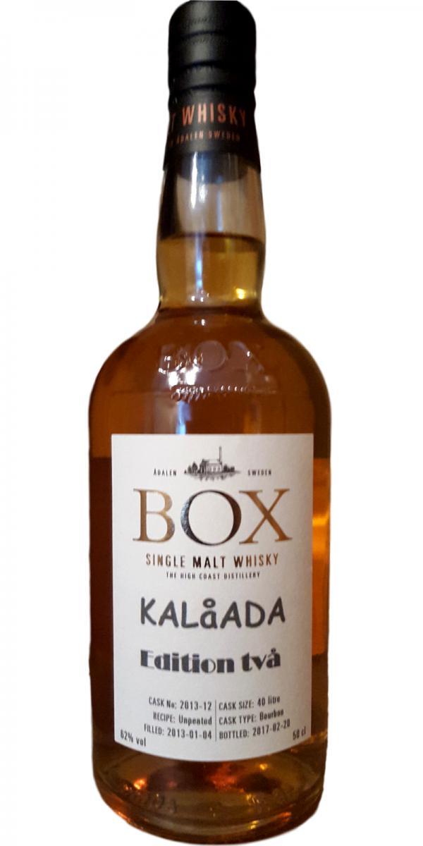 Box 2013 - KALåADA edition 2