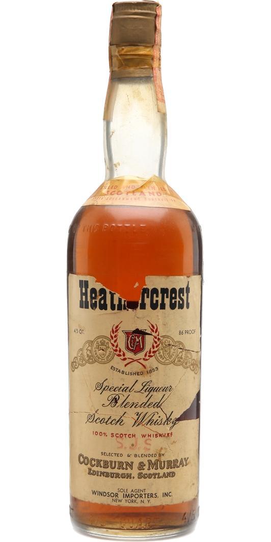 Heathercrest Special Liqueur Blended Scotch Whisky
