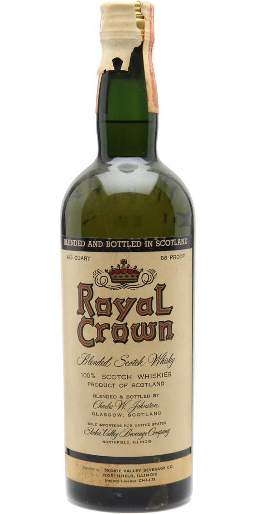 Royal Crown (Scotland) Blended Scotch Whisky