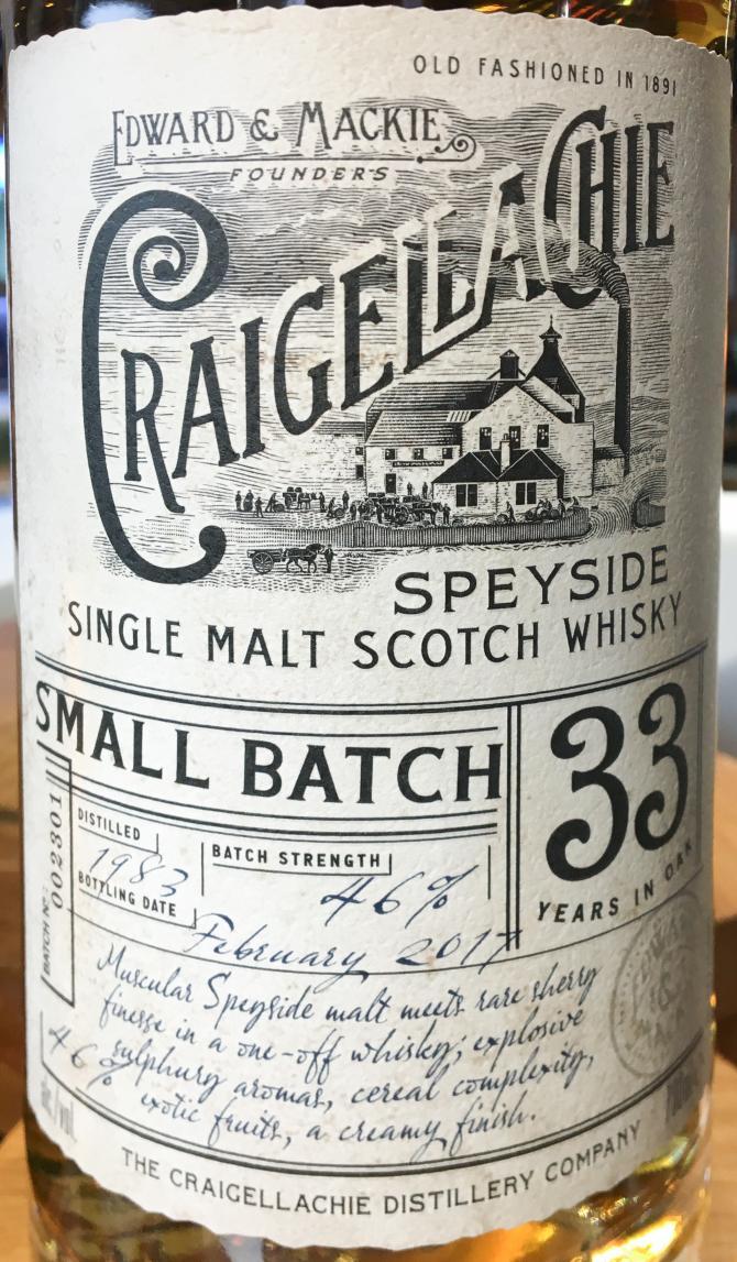 Craigellachie 1983
