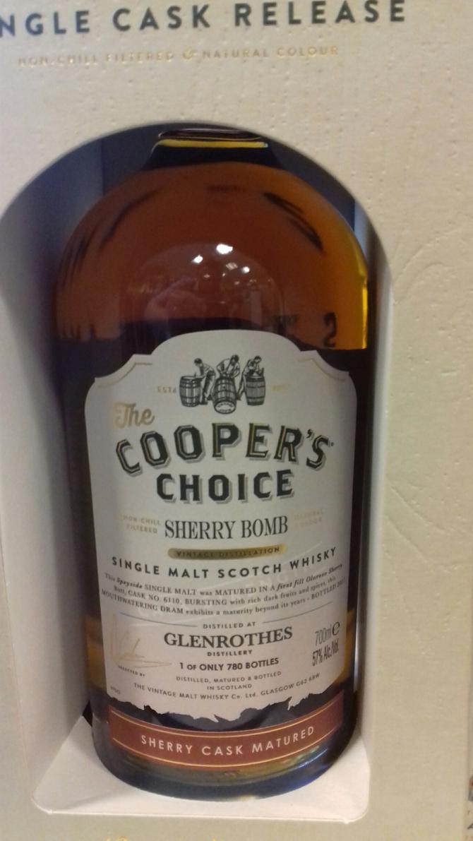 Glenrothes Sherry Bomb VM