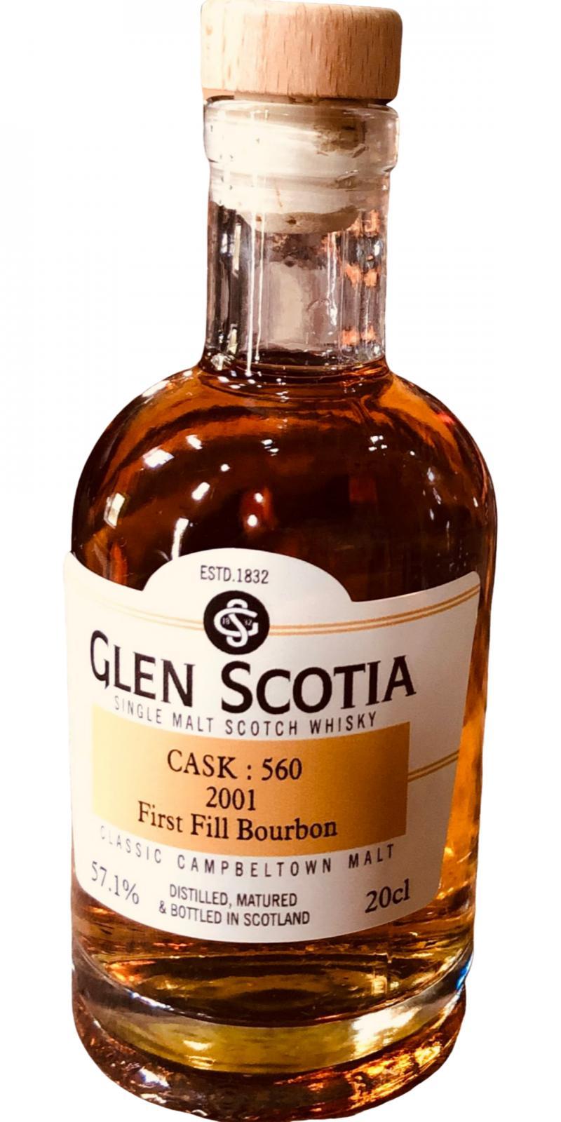 Glen Scotia 2001