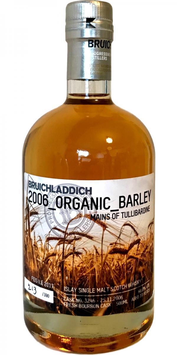 Bruichladdich 2006_Organic_Barley