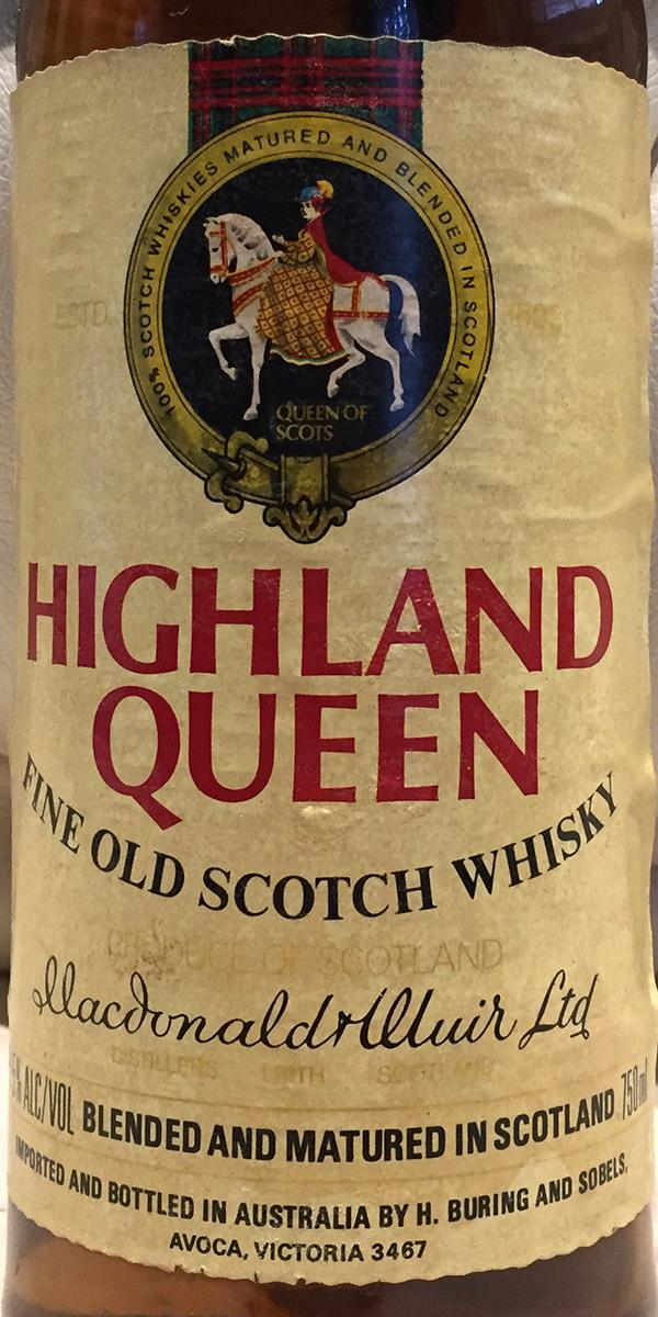 Highland Queen Fine Old Scotch Whisky