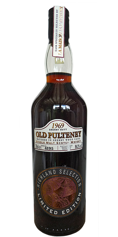 Old Pulteney 1969