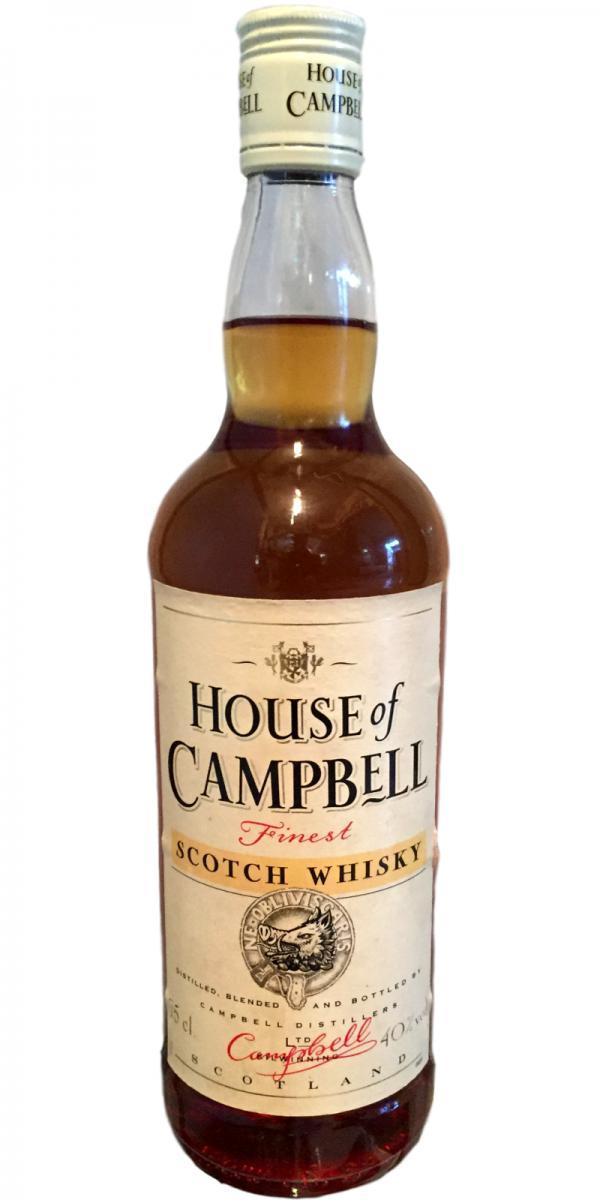 House of Campbell Finest Scotch Whisky