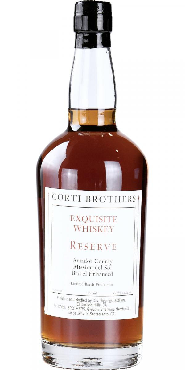 Corti Brothers Exquisite Whiskey