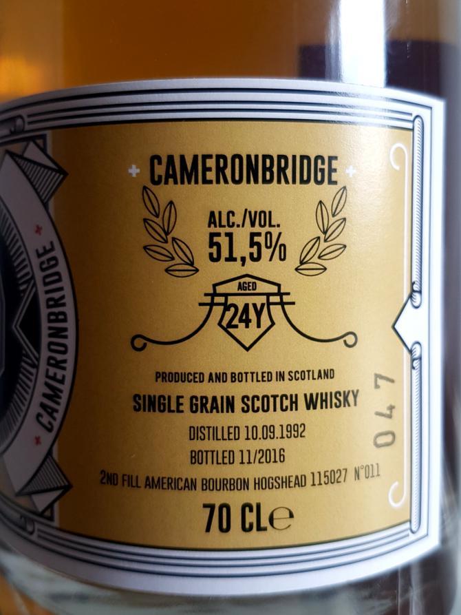 Cameronbridge 1992 CsA