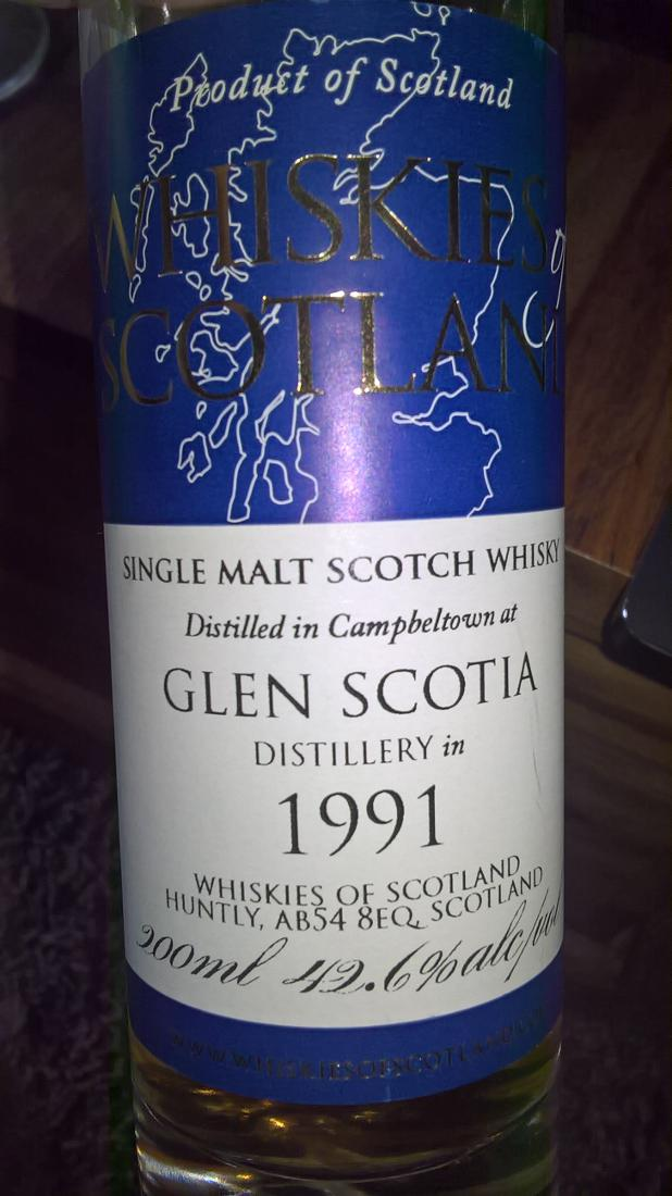 Glen Scotia 1991 SMD