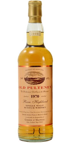 Old Pulteney 1970 GM