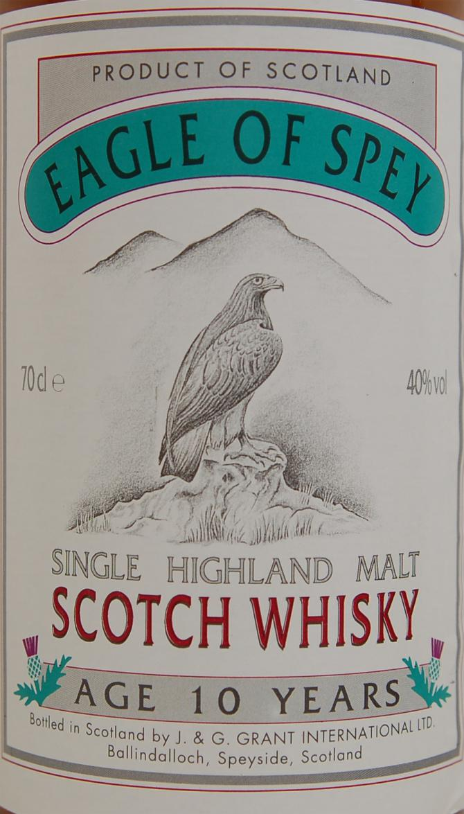 Eagle of Spey 10-year-old