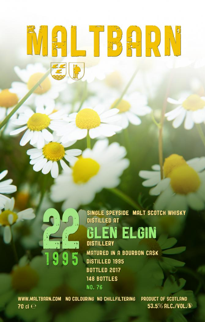 Glen Elgin 1995 MBa
