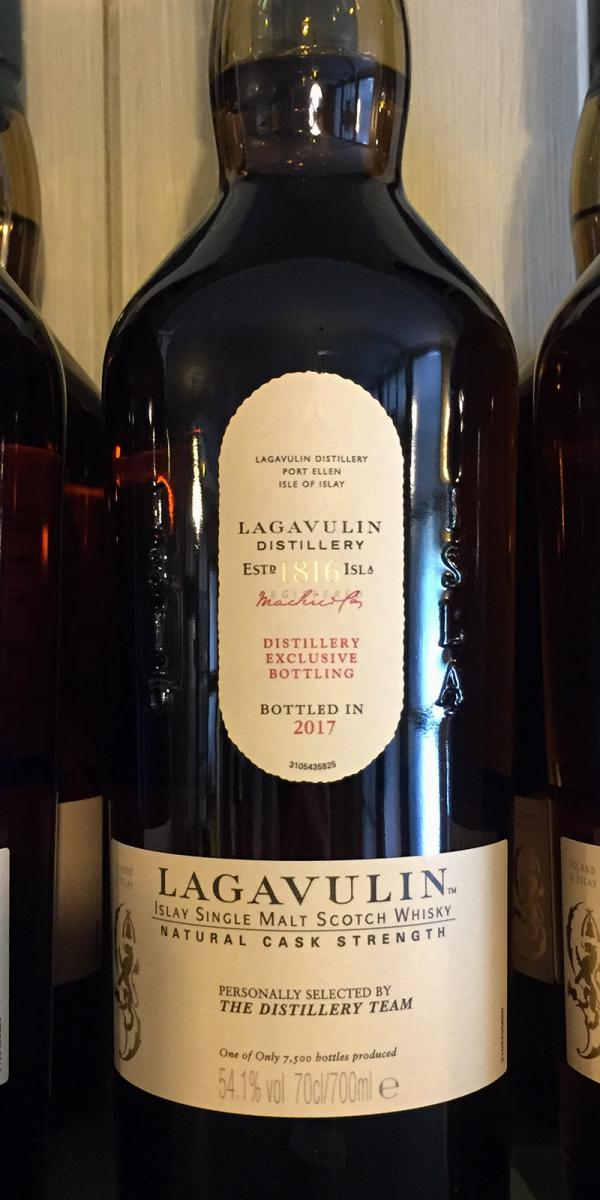 Lagavulin Distillery Exclusive Bottling