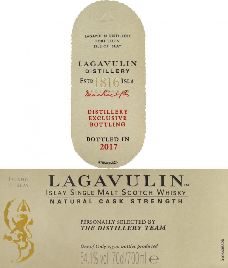 Lagavulin Distillery Exclusive Bottling