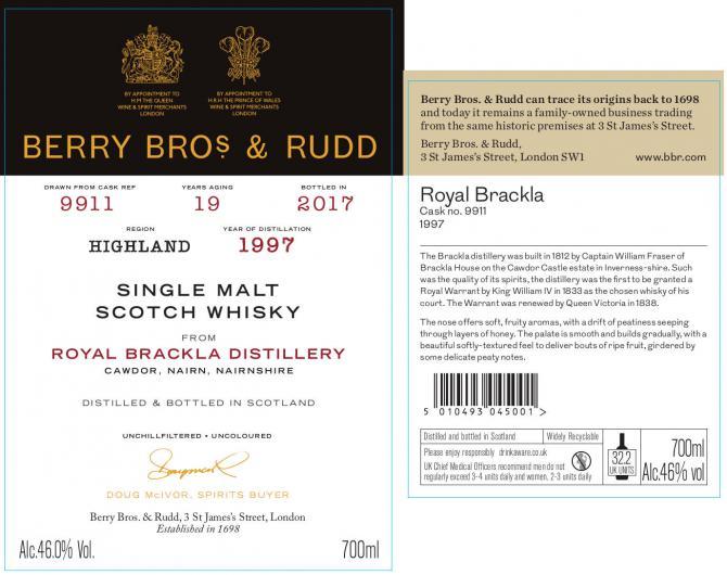 Royal Brackla 1997 BR