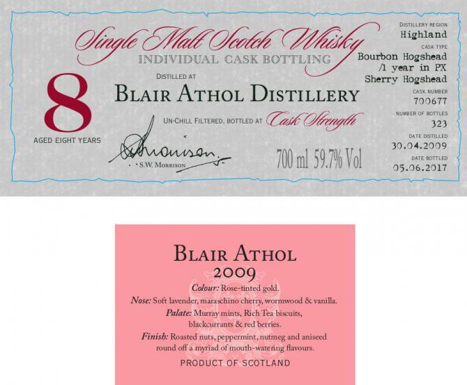 Blair Athol 2009 DR
