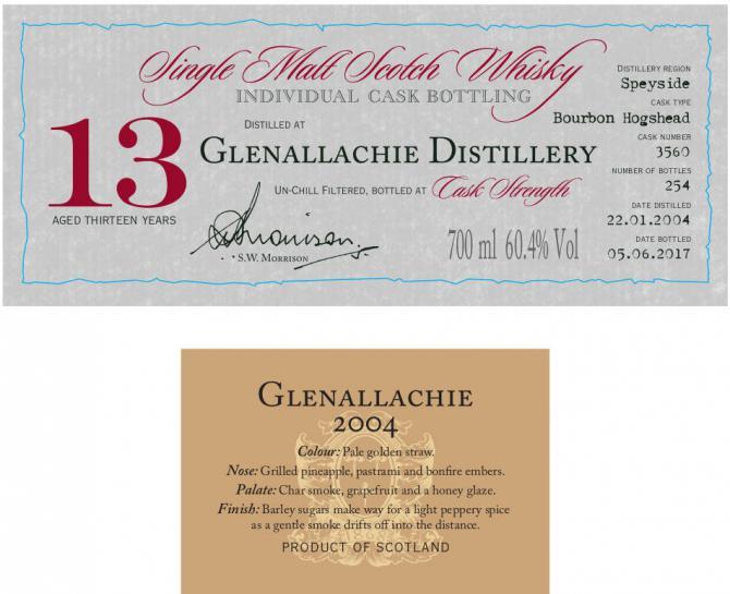 Glenallachie 2004 DR