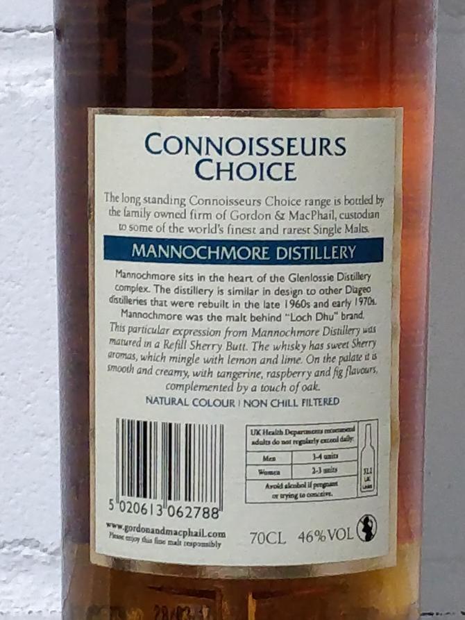 Mannochmore 1996 GM