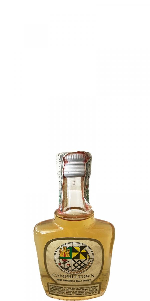 Campbeltown Pure Unblended Malt Whisky SPM