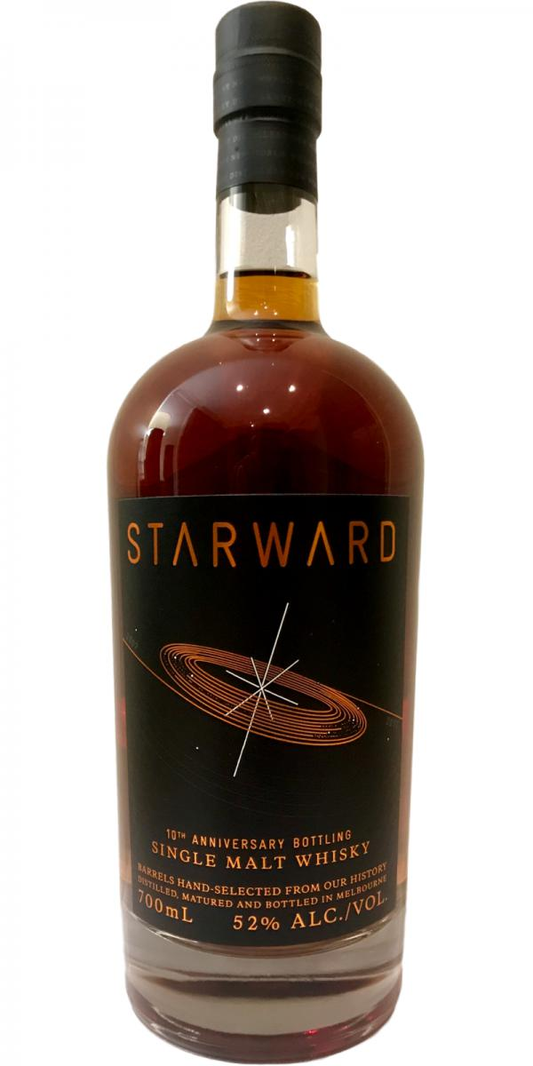Starward 10th Anniversary Bottling