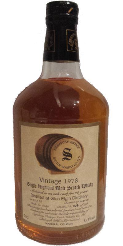 Glen Elgin 1978 SV