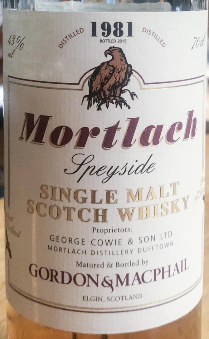 Mortlach 1981 GM