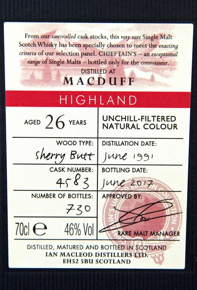 Macduff 1991 IM