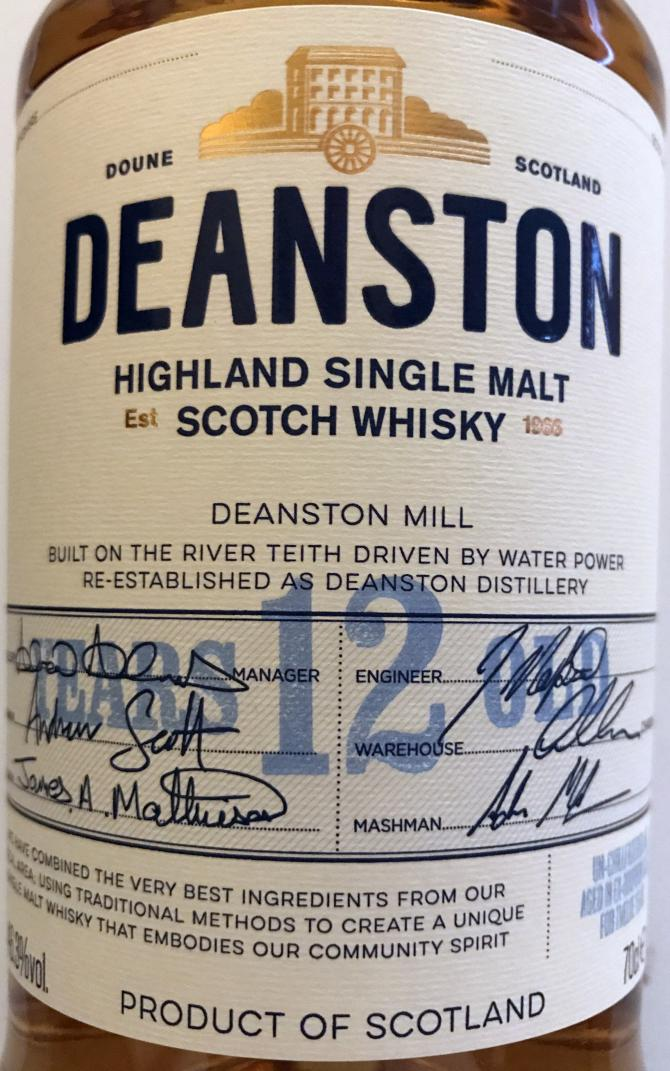 Deanston 12-year-old