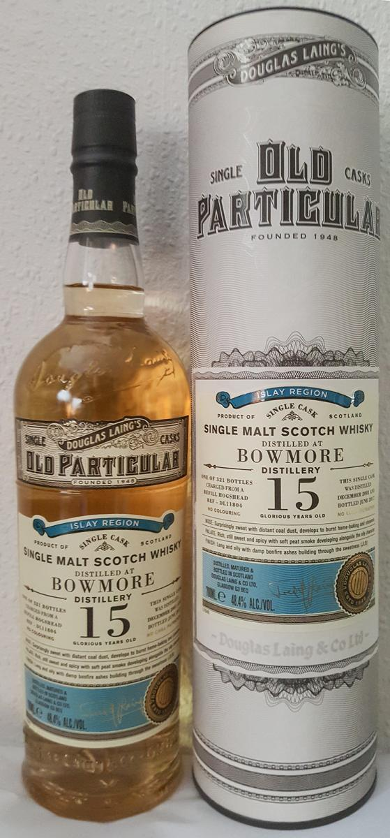 Bowmore 2001 DL