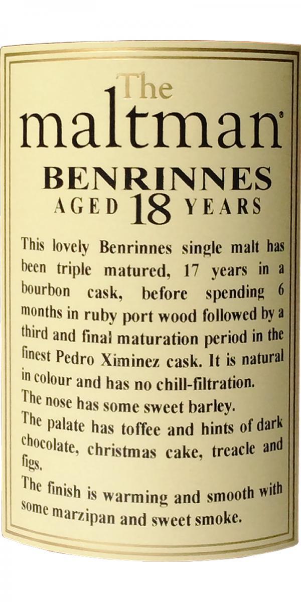 Benrinnes 1997 MBl