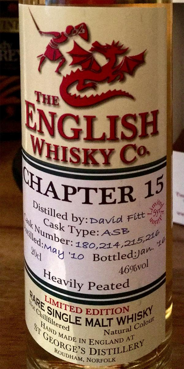 The English Whisky 2010