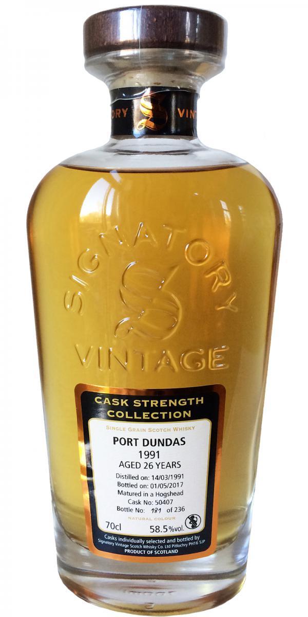 Port Dundas 1991 SV
